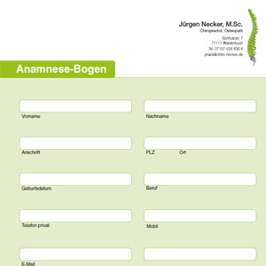 Fragebogen Jürgen Necker